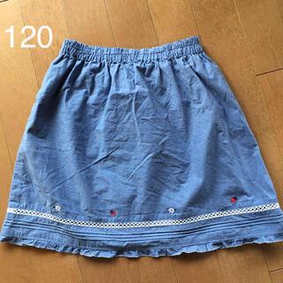 ファミリア(familiar)のfamiliar*デニム風 スカート 120(スカート)