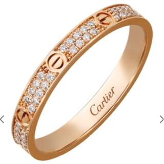 Cartier - 新品同様 国内品薄カルティエ ミニラブリングフルダイヤPG