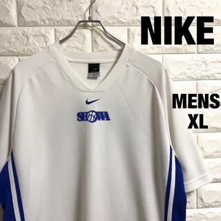 ナイキ(NIKE)のNIKE  ナイキ  バスケプリント 刺繍ロゴ ドライTシャツ メンズXLサイズ(Tシャツ/カットソー(半袖/袖なし))