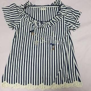 アクシーズファム(axes femme)のaxes femme ストライプTシャツ(Tシャツ(半袖/袖なし))