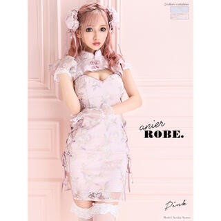 ROBE - ROBE de FLEURS/チャイナ/ドリーミー/アニエル/タイト/ミニドレス