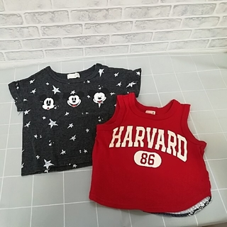 petit main - 子供服 b.ROOM 子どもTシャツ petit main子どもタンクトップ