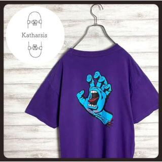 【希少カラー】90sサンタクルーズ バックプリント ビックサイズ Tシャツ(Tシャツ/カットソー(半袖/袖なし))