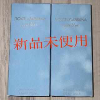 DOLCE&GABBANA - 『2個セット』ドルチェ&ガッバーナ  ライトブルー オードトワレ 100ml