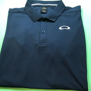 オークリー(Oakley)のOAKLEY….紳士半袖ポロシャツ…(XXLサイズ)(ポロシャツ)