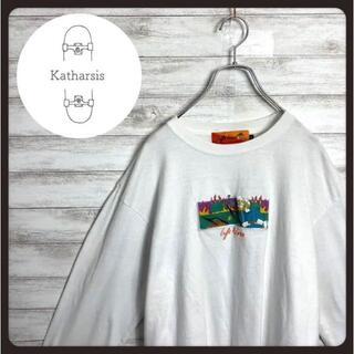 【入手困難】レフトアローン 両面ロゴ ビックサイズ Tシャツ ロンT(Tシャツ/カットソー(七分/長袖))