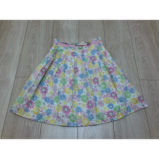 ファミリア(familiar)のファミリア スカート 120cm 110cm 春夏物 花柄 ワンピース(スカート)