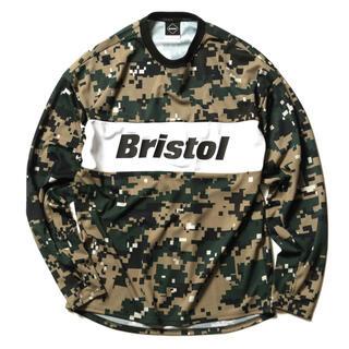 エフシーアールビー(F.C.R.B.)のFCRB PANEL LINE L/S TRAINING TOP ブリストル(Tシャツ/カットソー(七分/長袖))