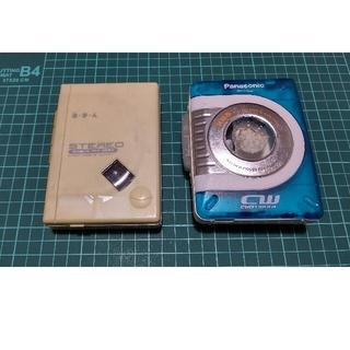 パナソニック(Panasonic)のRQ-CW03のセット(ポータブルプレーヤー)