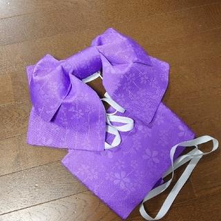 シマムラ(しまむら)の◆あざやか紫♡作り帯◆(浴衣帯)