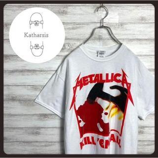 【入手困難】90s メタリカ 両面プリント バンT バンドTシャツ(Tシャツ/カットソー(半袖/袖なし))