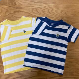 ユニクロ(UNIQLO)の(maple様専用)ユニクロ 半袖Tシャツ 140㎝ 2枚(Tシャツ/カットソー)