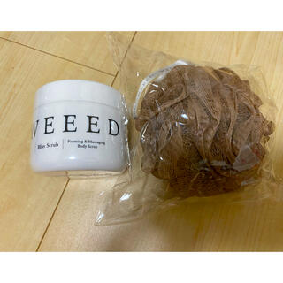 WEEEDボディスクラブ 360g &泡立てネット付き(ボディスクラブ)