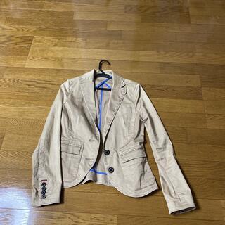 ダブルスタンダードクロージング(DOUBLE STANDARD CLOTHING)のベージュジャケットお値下げ(テーラードジャケット)