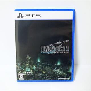PS5 FF7 ファイナルファンタジーVII リメイク インターグレード