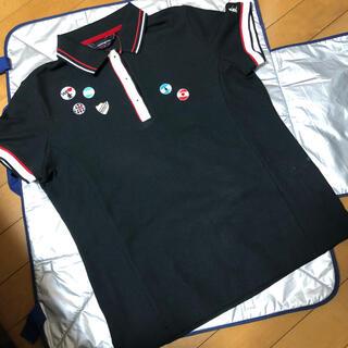 Munsingwear - 値下げ【未着用】日本製 マンシング 襟付きポロシャツ レディース ゴルフ