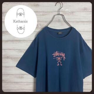 ステューシー(STUSSY)の【入手困難】ステューシー シャドーマン センターロゴ ビックサイズ Tシャツ(Tシャツ/カットソー(半袖/袖なし))