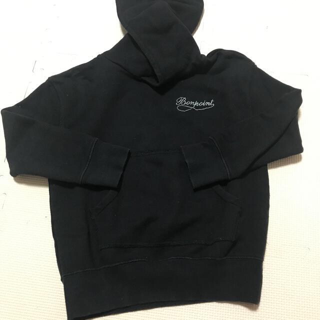 Bonpoint(ボンポワン)のボンポワン 6a トレーナー  黒 キッズ/ベビー/マタニティのキッズ服女の子用(90cm~)(Tシャツ/カットソー)の商品写真