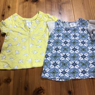 カーターズ(carter's)のTシャツ 2枚セット 女の子 70 半袖(Tシャツ)