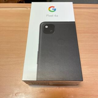 Google Pixel - 【新品未使用】Google pixel4a 黒 SIMフリー