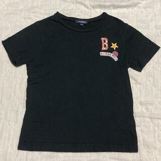 BURBERRY - バーバリー Tシャツ 黒 150