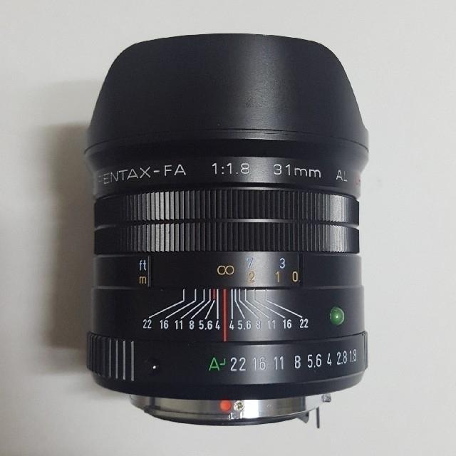 PENTAX(ペンタックス)のPENTAX  smc FA31mm f1.8 limited スマホ/家電/カメラのカメラ(レンズ(単焦点))の商品写真