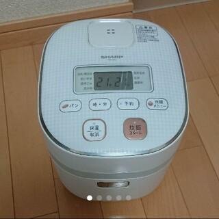 シャープ(SHARP)の送料無料 シャープ炊飯器SHARP KS-C5J-W(炊飯器)