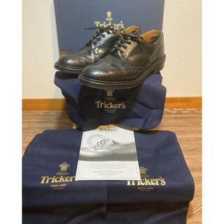 Trickers - トリッカーズ カントリーシューズ ブローグ ウィングチップ 英国