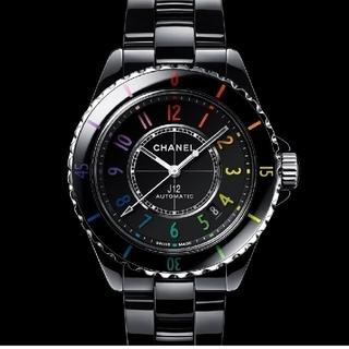シャネル(CHANEL)の国内正規CHANEL J12エレクトロキャリバー12.1 38㎜ 新品試着のみ(腕時計(アナログ))
