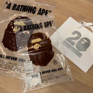 アベイシングエイプ(A BATHING APE)のエイプ ショップ袋(ショップ袋)