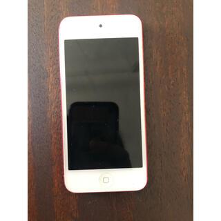 アイポッドタッチ(iPod touch)のiPod第5世代 32GB ピンク(ポータブルプレーヤー)