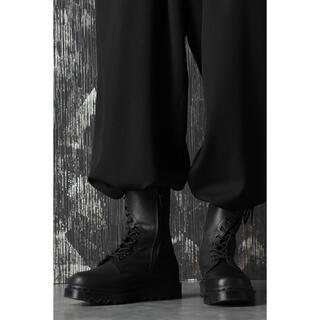 ヨウジヤマモト(Yohji Yamamoto)のyohjiyamamoto×Dr.Martensコラボ 10ホールねじれブーツ(ブーツ)