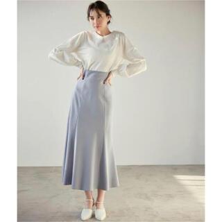 ココディール(COCO DEAL)の美品 COCO DEAL 後ろレースアップハイウエストスカート(ロングスカート)