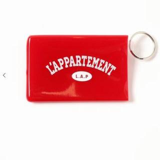 アパルトモンドゥーズィエムクラス(L'Appartement DEUXIEME CLASSE)の♦︎新品♦︎ Quiky Card Holder W/Keyring  (パスケース/IDカードホルダー)