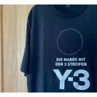 ワイスリー(Y-3)の【最高ディテール】ヨウジヤマモト Y-3 フロントロゴTシャツ(Tシャツ/カットソー(半袖/袖なし))