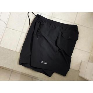ENNOY Nylon Shorts BLACK M エンノイ ナイロンショーツ(ショートパンツ)