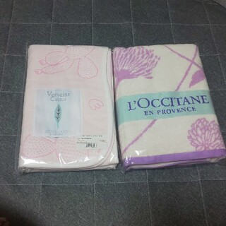 ロクシタン(L'OCCITANE)のL'OCCITANE ブランケット  バスタオル(タオル/バス用品)