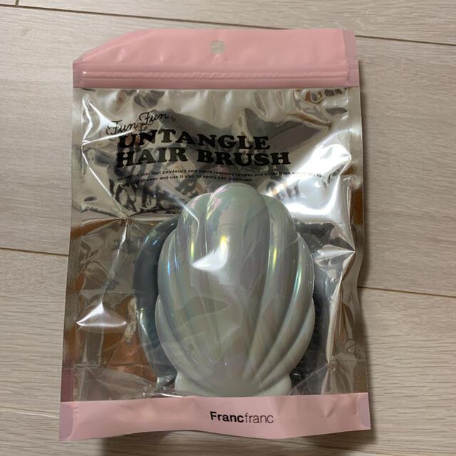 Francfranc(フランフラン)のヘアブラシ Francfranc コスメ/美容のヘアケア/スタイリング(ヘアブラシ/クシ)の商品写真