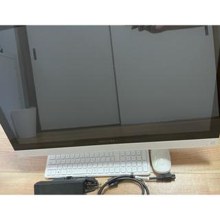 ヒューレットパッカード(HP)のHP PAVILION タッチパネル27インチ 一体型デスクトップパソコン(デスクトップ型PC)