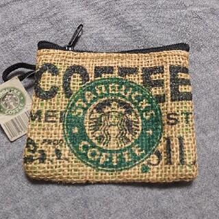 Starbucks Coffee - STARBUCKS  コインポーチ新品未使用タグ付き