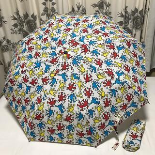 ユニクロ(UNIQLO)のキースヘリング 折りたたみ傘(傘)