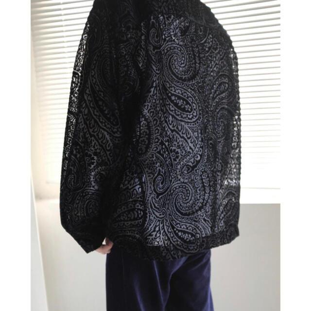 Jieda(ジエダ)のjieda open collar shirt ls 2021ss メンズのトップス(シャツ)の商品写真