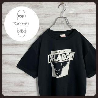 エクストララージ(XLARGE)の【入手困難】エクストララージ ゴリラ 逆さロゴ ブラック ゲームシャツ(Tシャツ/カットソー(半袖/袖なし))