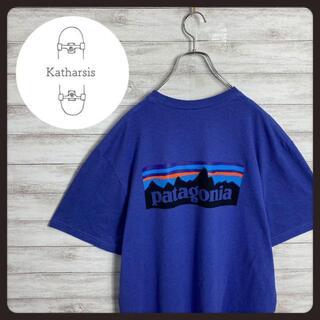 パタゴニア(patagonia)の【入手困難】パタゴニア ネイビー バックプリント ビックサイズ Tシャツ(Tシャツ/カットソー(半袖/袖なし))