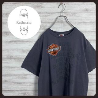 【入手困難】ハーレーダビッドソン プリントロゴ ビックサイズ ポケT(Tシャツ/カットソー(半袖/袖なし))