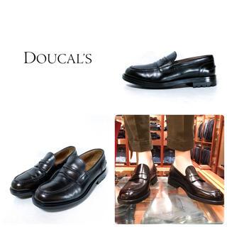 ビームス(BEAMS)の■定6.6万 デュカルス DOUCAL'S ローファー 39.5 25.5 美品(ドレス/ビジネス)