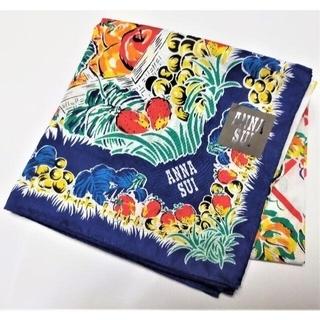 ANNA SUI - ANNA SUI /アナスイ 大判ハンカチ57cm角 スカーフ 透かし織り