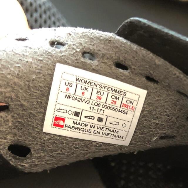 THE NORTH FACE(ザノースフェイス)のノースフェイス★スニーカー25センチ★試着のみ★半額 レディースの靴/シューズ(スニーカー)の商品写真