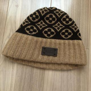 ルイヴィトン(LOUIS VUITTON)のルイヴィトン/ビーニーニット帽(ニット帽/ビーニー)