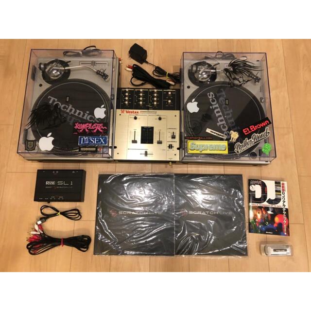 ターンテーブル Technics 楽器のDJ機器(ターンテーブル)の商品写真